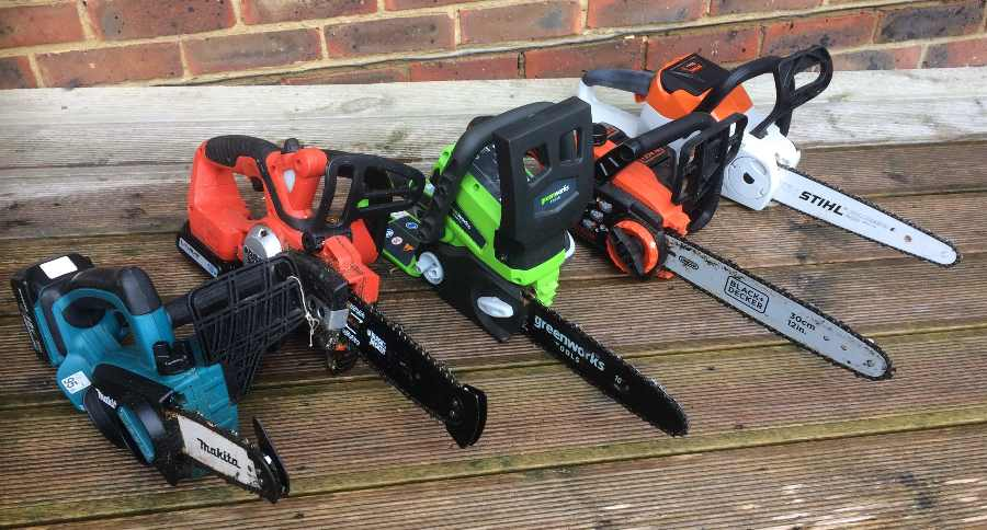 Cordless chainsaws tested and reviewed by fred in the shed keyboard keysfo Image collections