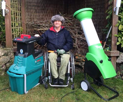 Garden shredders tested and reviewed by Fred In The Shed
