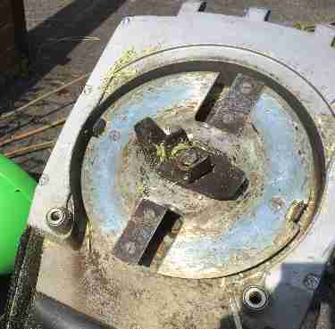 Garden shredders tested and reviewed by fred in the shed - Viking ge 250 ...